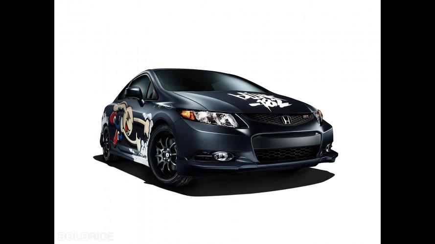 Honda Civic Si Coupe - Honda Civic Tour