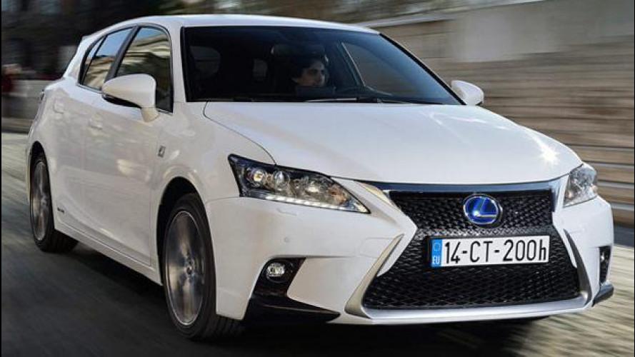 Lexus CT Hybrid: carattere da Prius, prezzo mai visto