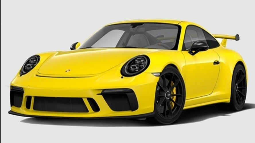 Nuova Porsche 911 GT3, configuratore online e un po' di fantasia