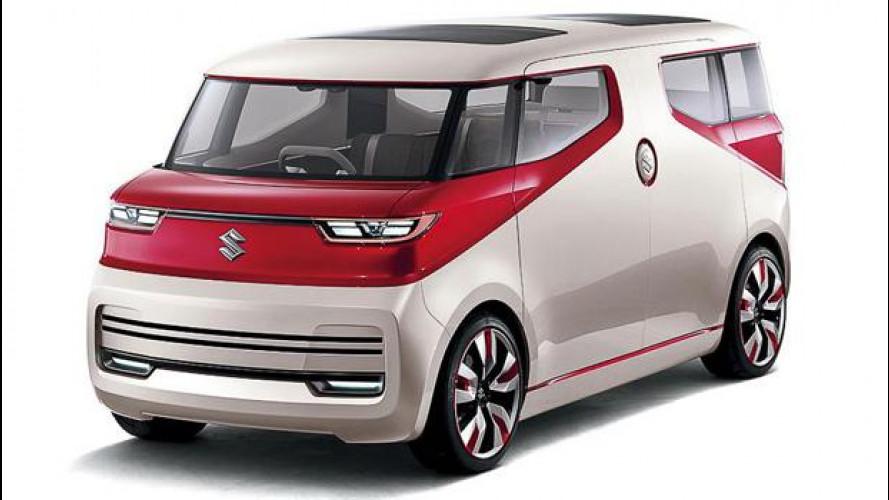 Suzuki Air Triser, il minivan concept che diventa salotto