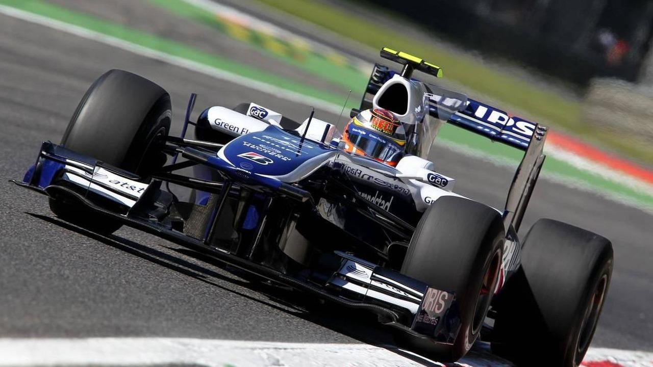 Nico Hulkenberg (GER), Williams F1 Team - Formula 1 World Championship, Rd 14, Italian Grand Prix, Friday Practice, 10.09.2010 Monza, Italy