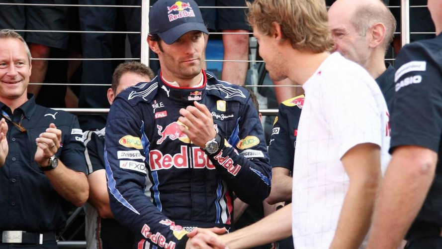 Vettel admits tense relationship with Webber