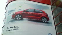 New VW Polo on Geneva Billboard