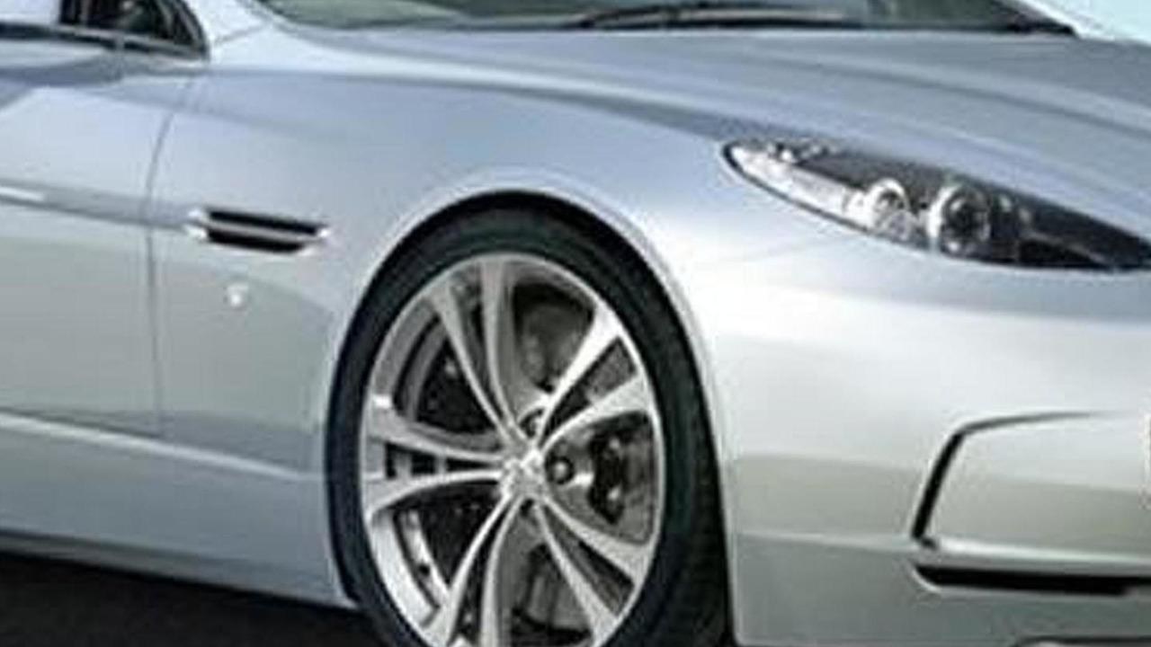 2013 Aston Martin DB9 facelift artists rendering