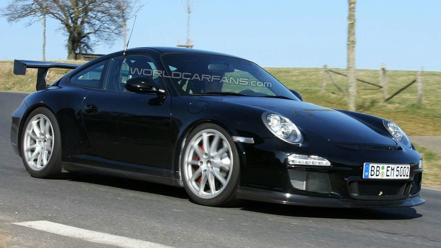 More Facelifted Porsche 997 GT3 RS Spy Photos