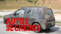 Fiat Uno prototype spy photo