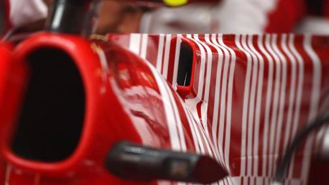 Fernando Alonso (ESP), Scuderia Ferrari, F10, F-Duct system detail, Chinese Grand Prix, 16.04.2010 Shanghai, China
