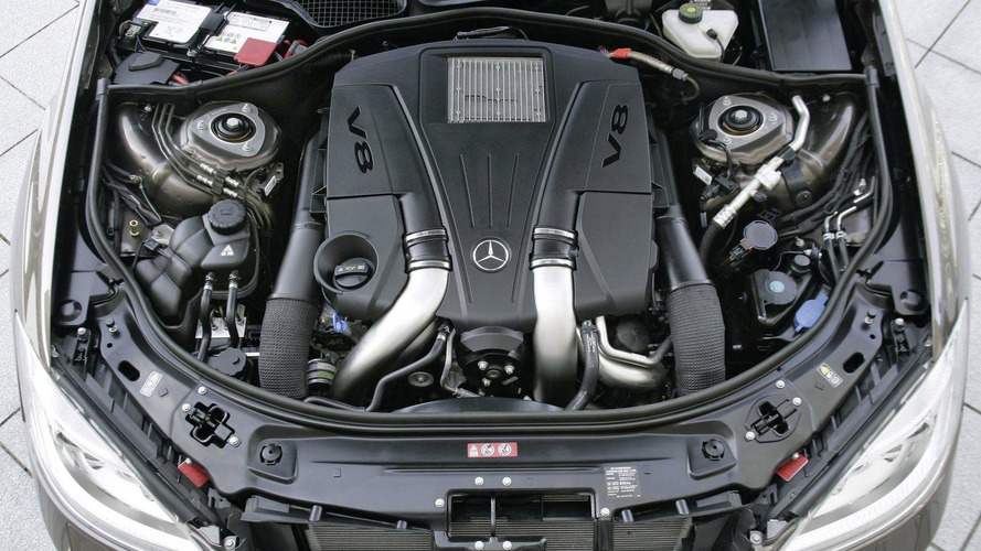 New Mercedes engines: 4.6-liter V8 biturbo and 3.5-liter V6 official details revealed