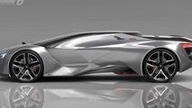 Peugeot Vision Gran Turismo concept