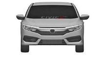Next generation Honda Civic Sedan patent sketch