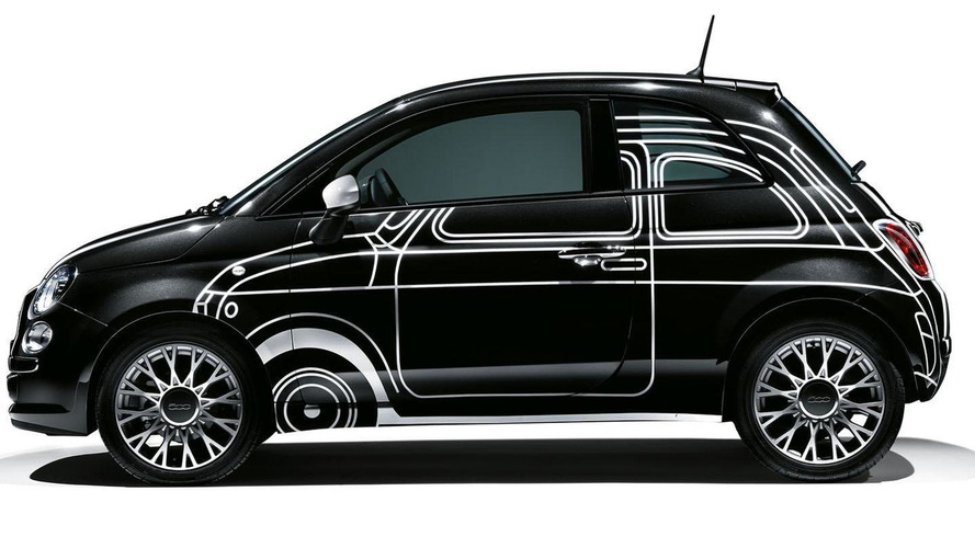Fiat 500 Ron Arad Edition unveiled, goes on sale in November