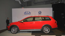 2017 Volkswagen Golf SportWagen at 2015 New York Auto Show