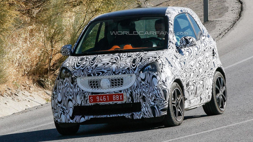 2015 Smart ForTwo Brabus spied, could have up to 120 PS
