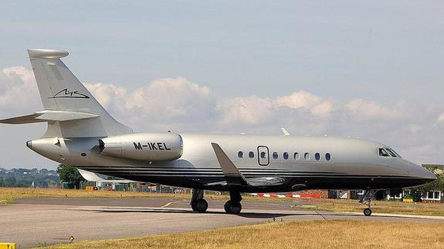 Wife selling Schumacher's private jet