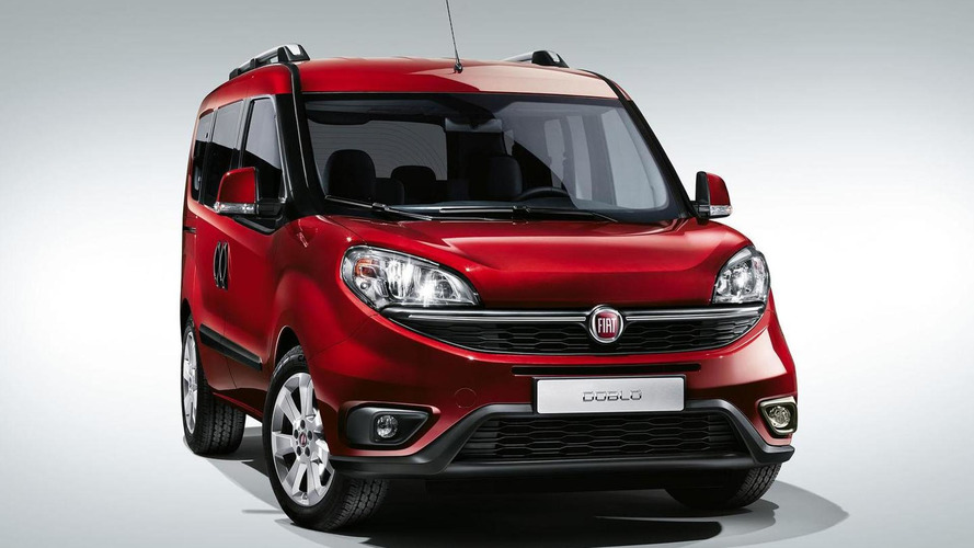 2015 Fiat Doblo revealed with revised styling inside & out