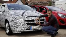 2015 Opel Corsa teaser