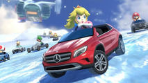 Mercedes cars on Mario Kart 8