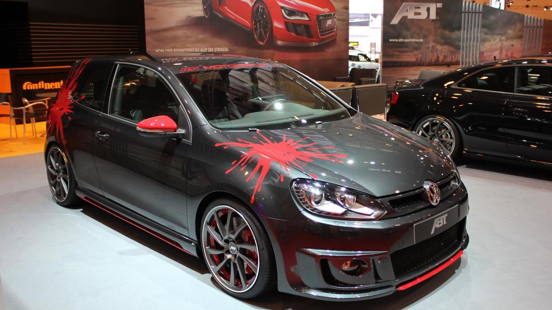 abt says goodbye to golf vi gti with last edition. Black Bedroom Furniture Sets. Home Design Ideas