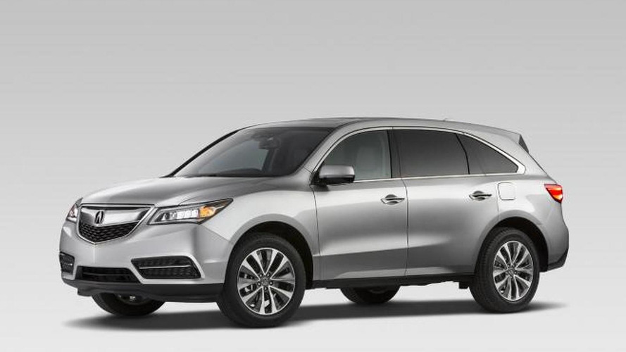 2014 Acura MDX first official images released