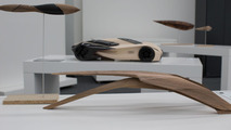 Wood Aerodynamics concept from design student Pavol Kirnág from the Academy of Fine Arts and Design in Bratislava 26.11.2012