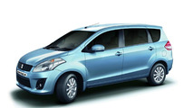 Lengthened Suzuki Swift becomes Maruti Ertiga [video]