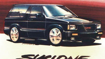 1992-93 GMC Typhoon official design sketch 04.11.2011