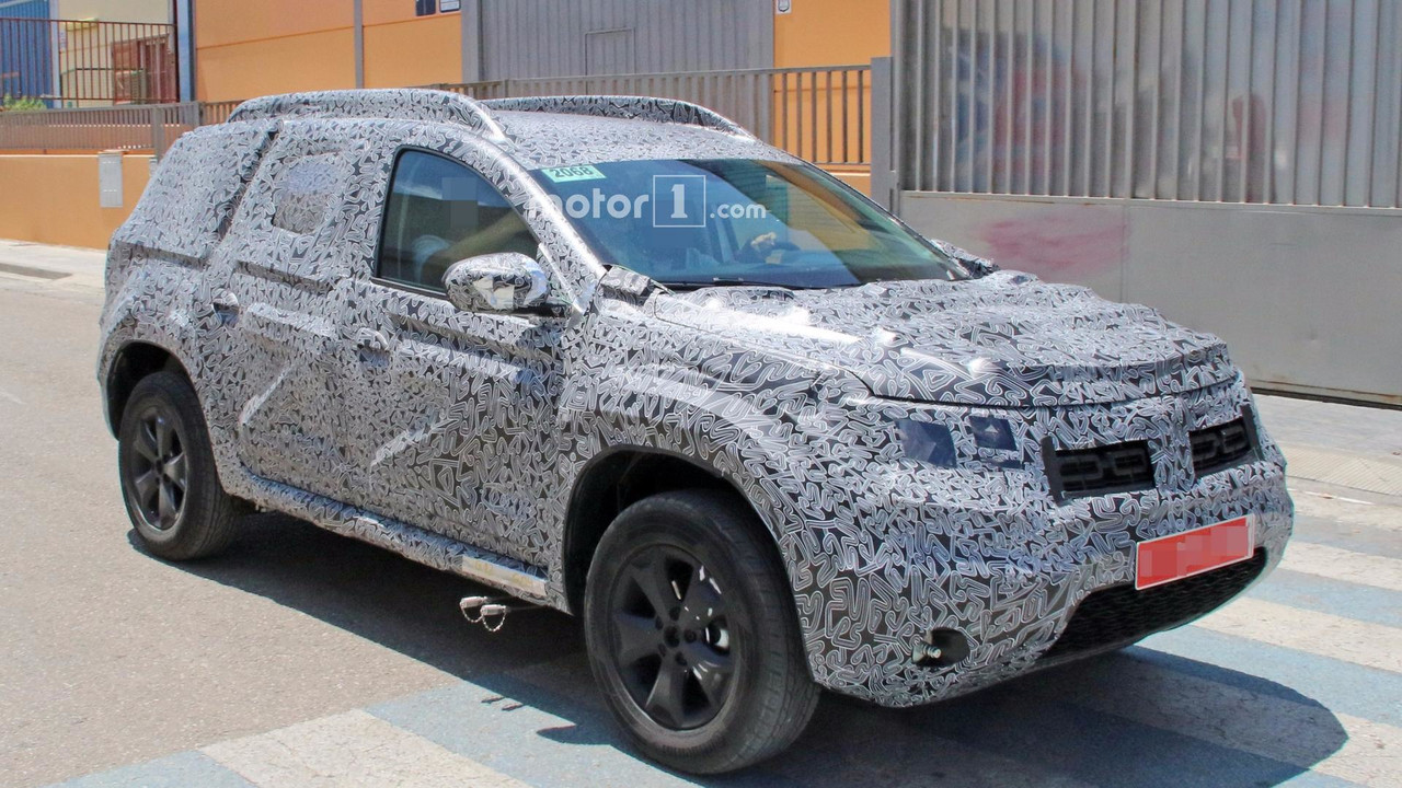 2018 Dacia Duster New Spy Images Photos