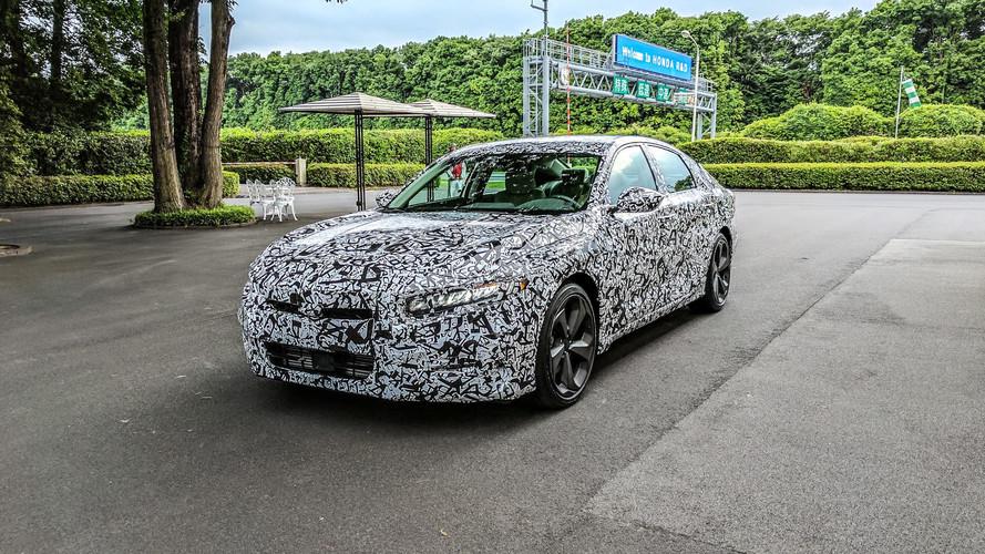 2018 Honda Accord Prototipi İlk Sürüş İncelemesi