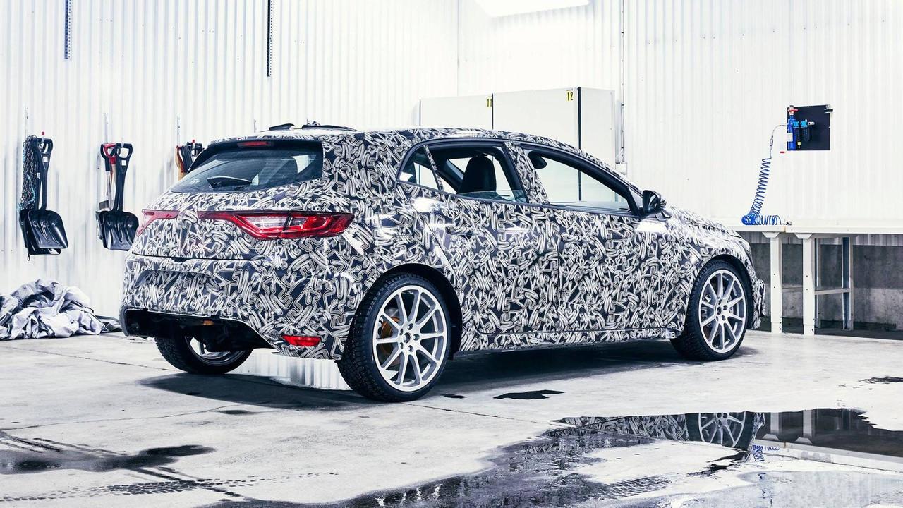 Renault Megane R.S. 2017, fotos espía