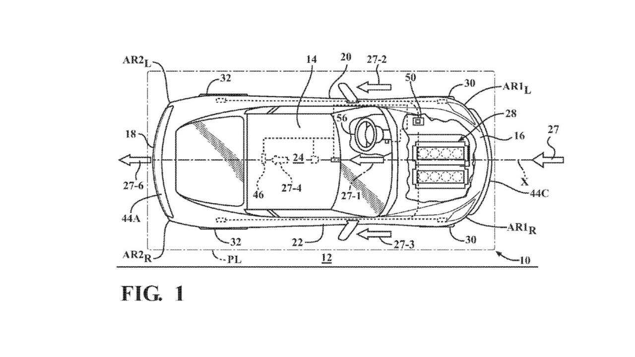 General Motors Aktif Aerodinami Patenti Corvette