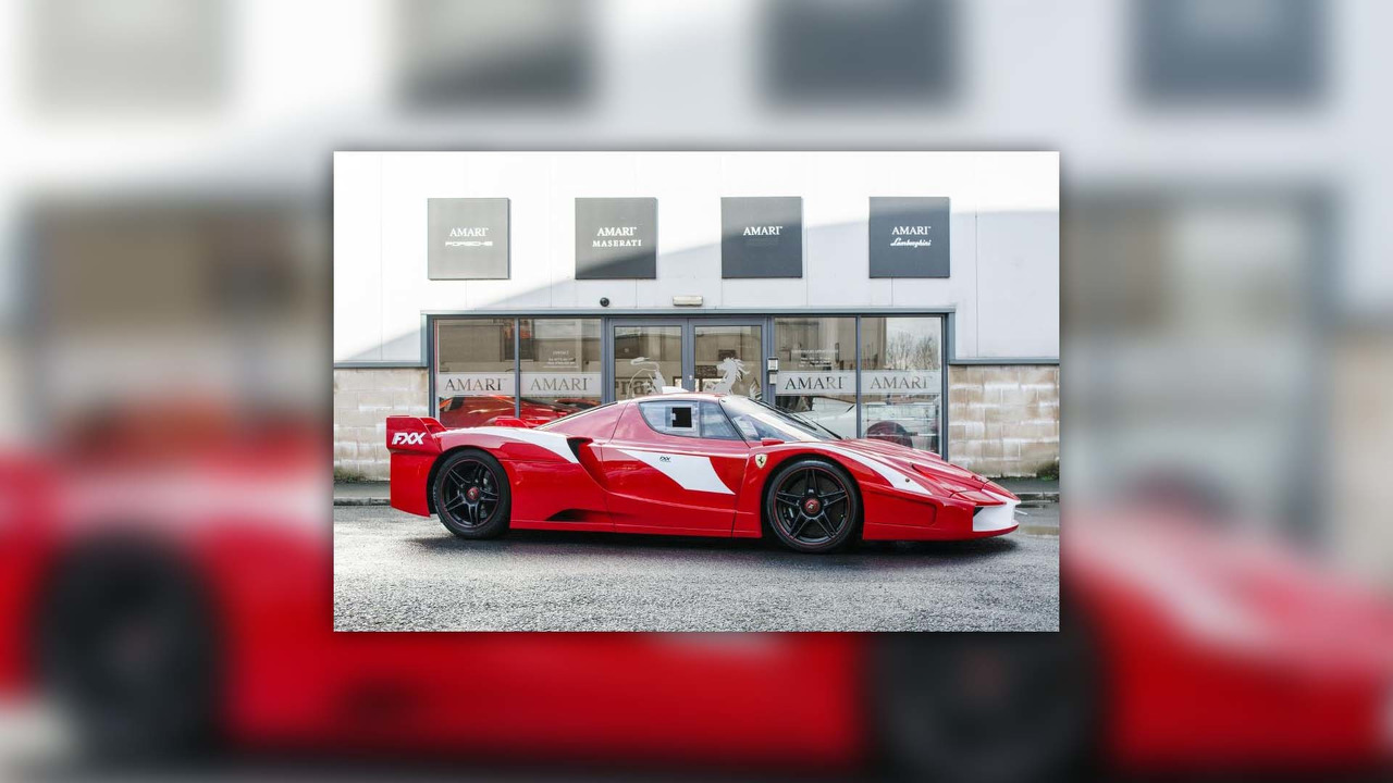 the world 39 s only street legal ferrari enzo fxx is for sale. Black Bedroom Furniture Sets. Home Design Ideas