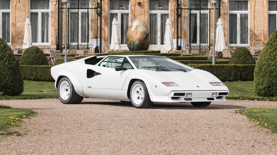 Gold-Plated Lamborghini Countach Brings The Bling To Auction