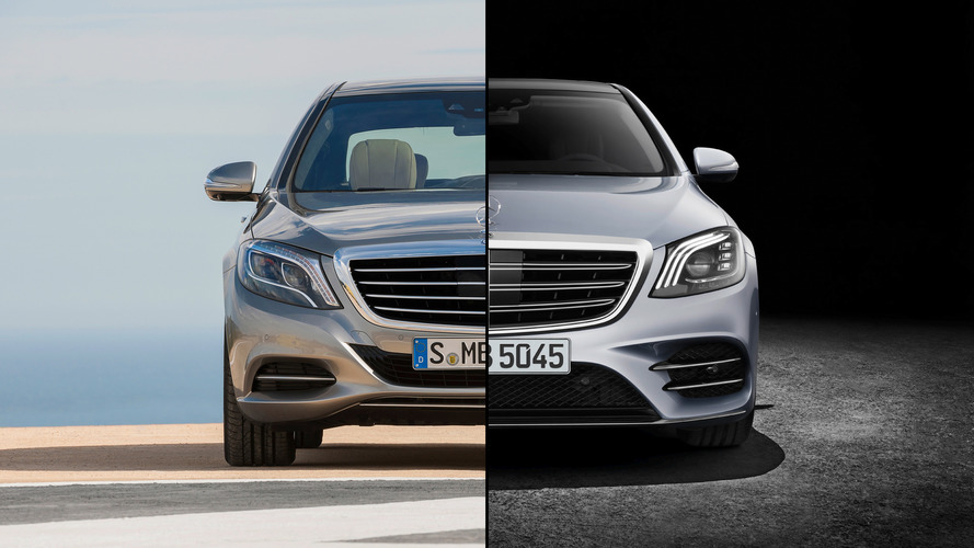 Mercedes S Class Body Style Change