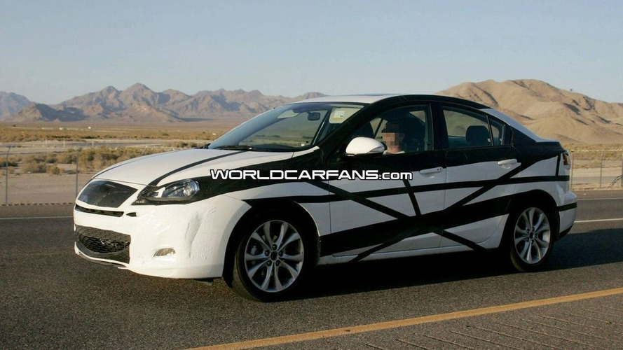 All New 2010 Mazda3 Spied by Tourist