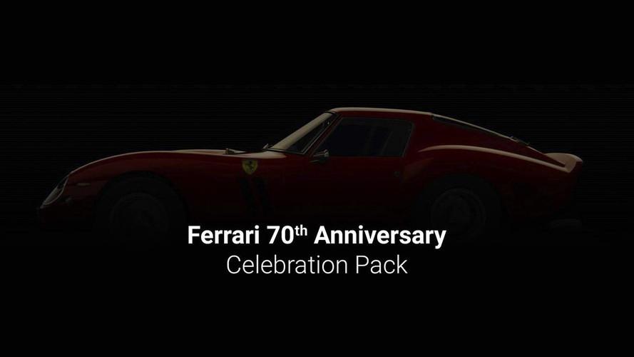 Un pack 70e anniversaire Ferrari pour Assetto Corsa