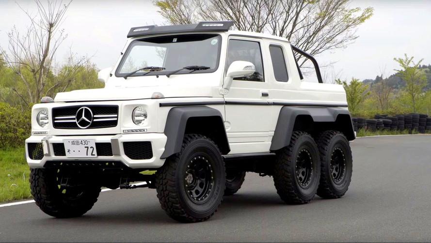This Mercedes G63 AMG 6x6 Clone Is Really A Suzuki Jimny