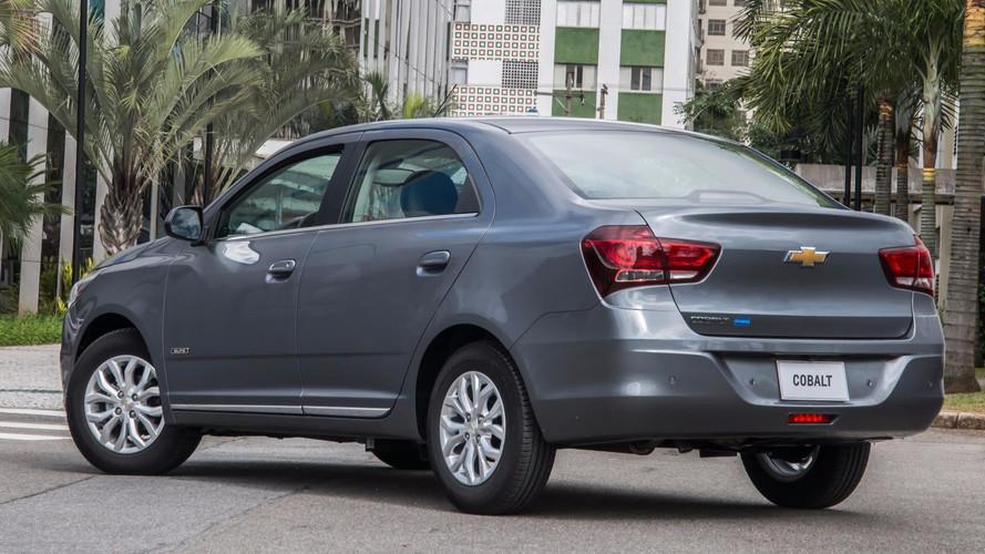 Chevrolet Cobalt 2018 quebra teto de R$ 70 mil e vai a R$ 71.490