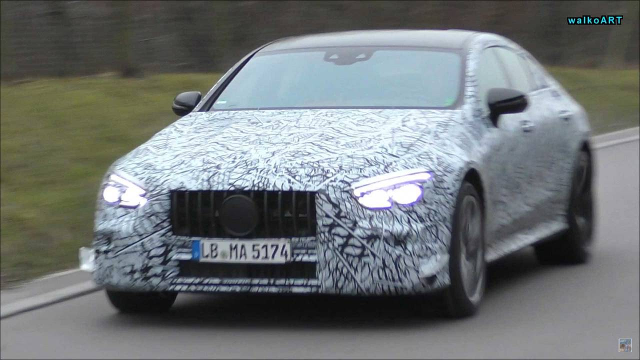 Mercedes-AMG GT Sedan spy photo