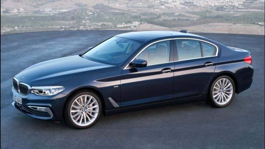 Nuova BMW Serie 5, prezzi da 50.800 euro