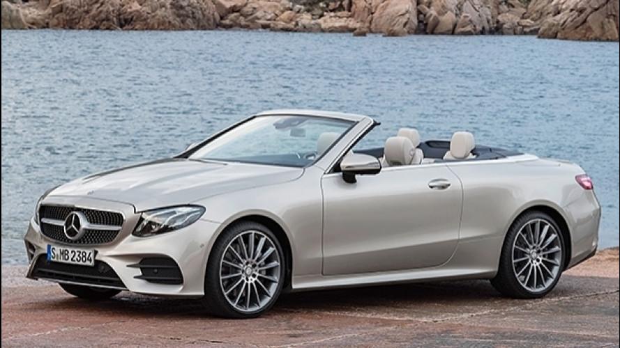 Nuova Mercedes Classe E Cabrio, lusso e tecnologia sotto il cielo