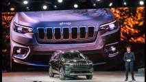 Jeep Cherokee restyling al Salone di Detroit 2018