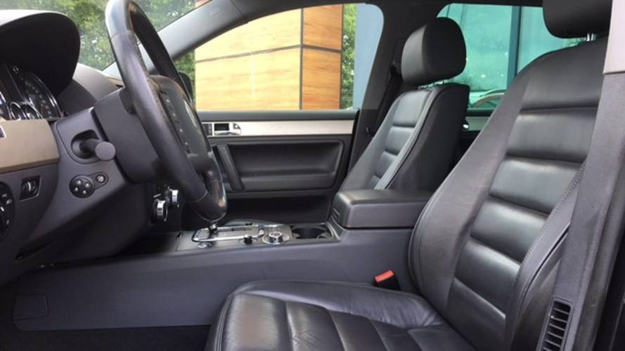 2006 VW Touareg V10 TDI avec 734'621 km au compteur