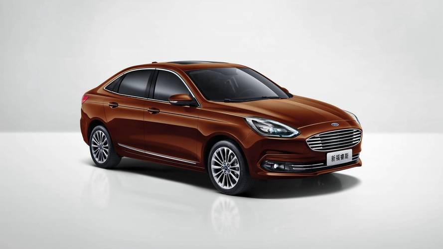 2018 Ford Escort (Chinese market)