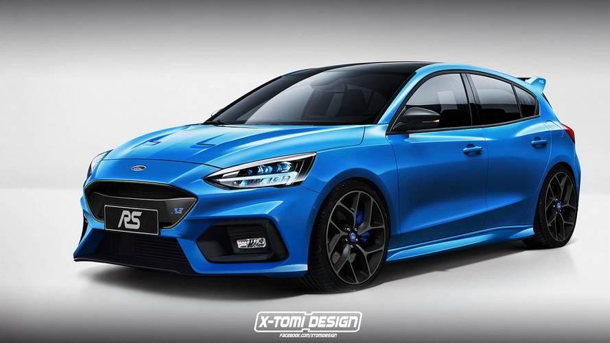 Így mutathat majd a vadonatúj Ford Focus RS