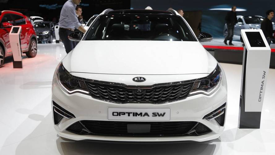 Kia optima euro spec at the 2018 geneva motor show for Kia motor company usa