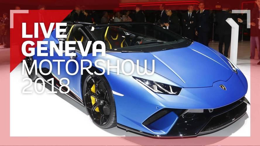 Genève 2018 - Découverte de la Lamborghini Huracán Performante Spyder