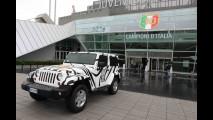 Jeep Wrangler festeggia lo scudetto della Juventus