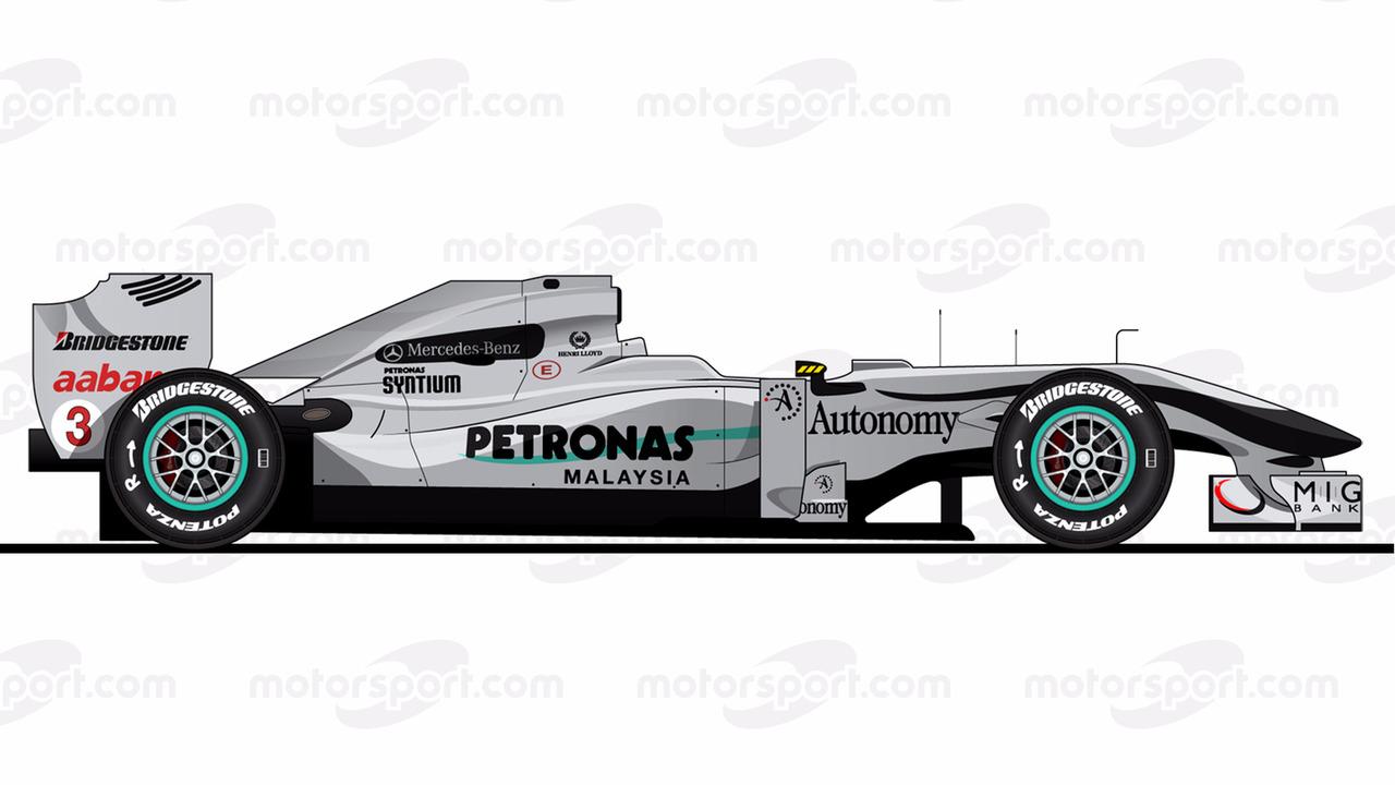 Mercedes W01