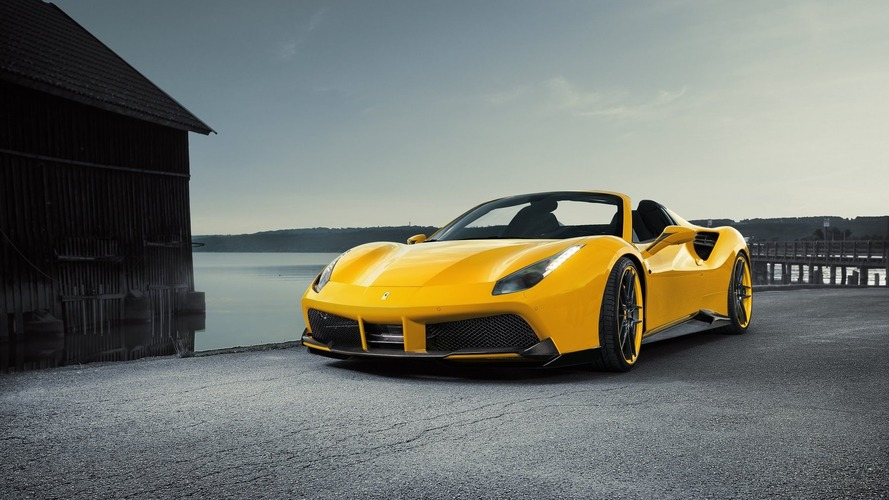Novitec, Ferrari 488 Spider'ı 772 bg'e çıkardı