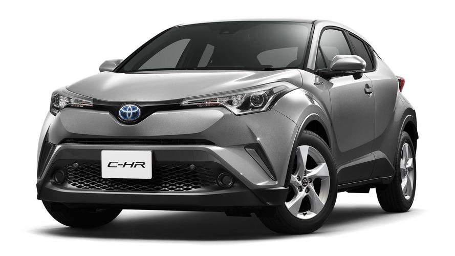 Toyota C-HR specs for Japanese market released